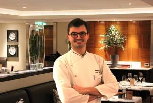 Lo chef Marco Visinoni
