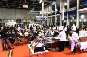 Dimostrazione degli Chef in Fiera