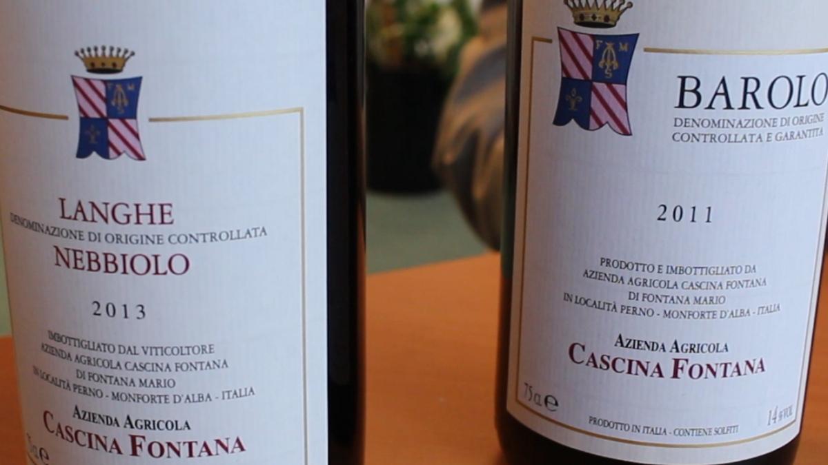Cascina Fontana, vini che esprimono il pieno gusto della terra #piemonte #nebbiolo #barolo