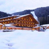 SCIATORI E SLONS AL BAD MOOS #altoadige #ski