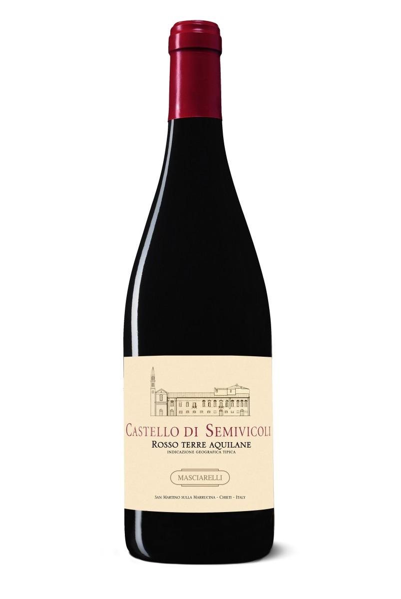 Masciarelli Tenute Agricole: Rosso IGT Terre Aquilane Castello di Semivicoli, elegante e intenso, un Rosso d'Abruzzo nobile per natura
