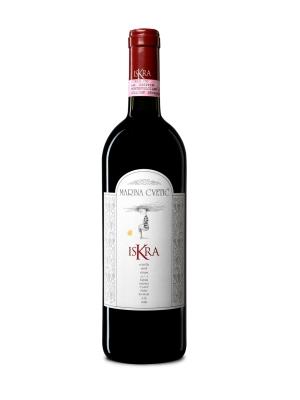 """Marina Cvetic Montepulciano ISKRA DOCG Colline Teramane 2005  tra i 104 migliori vini d'Italia secondo """"WineSpectator""""."""
