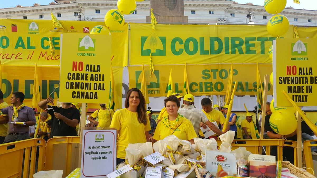 UE: COLDIRETTI, PER LA PRIMA VOLTA OK A FALSO MADE IN ITALY