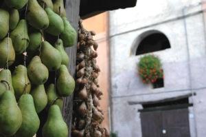 Pera volpina all'olio d'oliva DOP, novembre gustoso aBrisighella