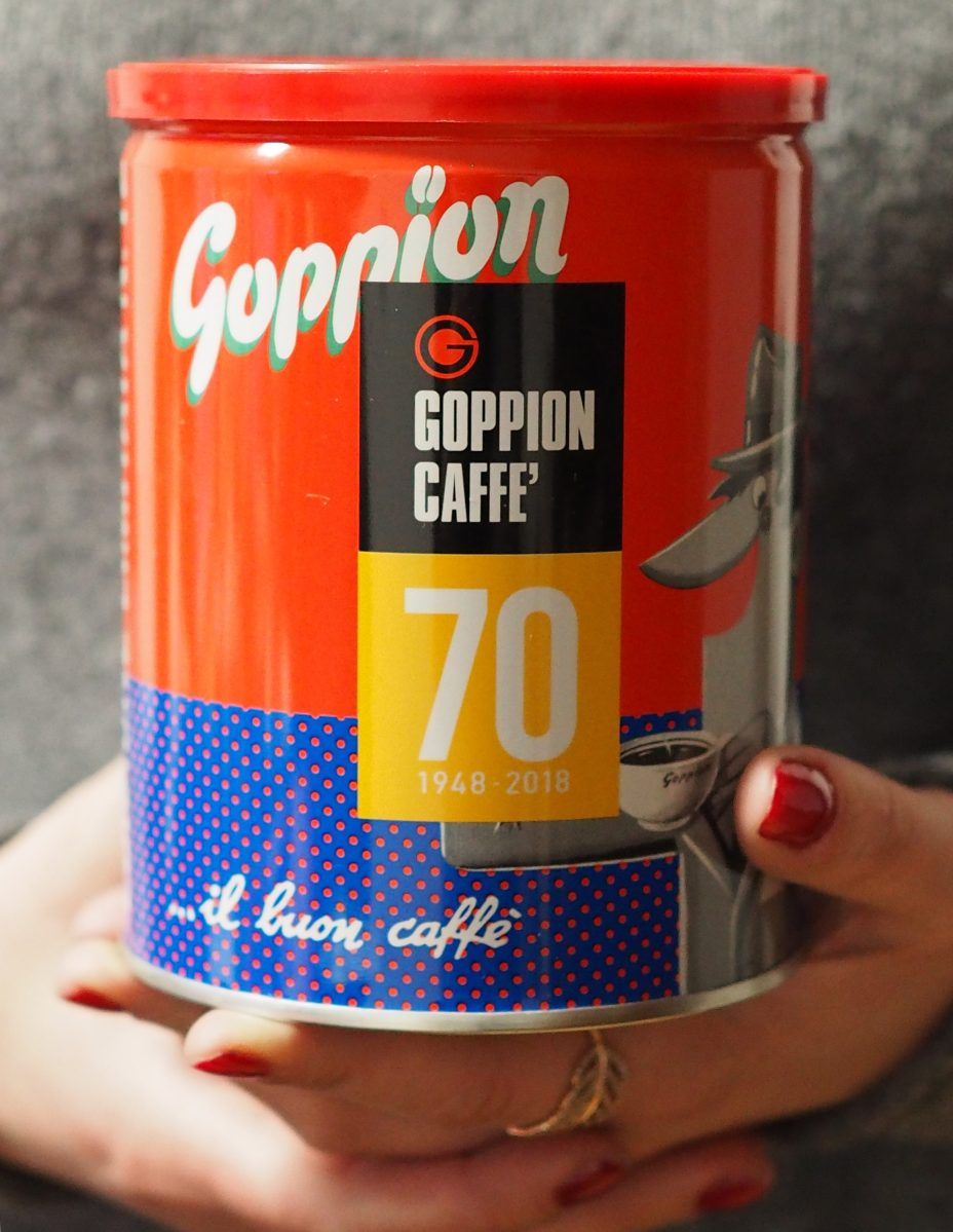 Goppion caffe' in edizione limitata: 70 anni in tre latte d'autore