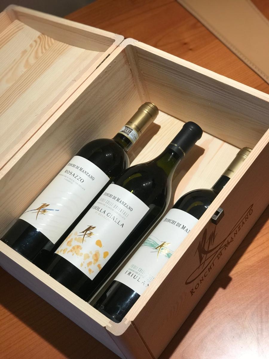 Ronchi di Manzano, i vini per il pranzo di Pasqua