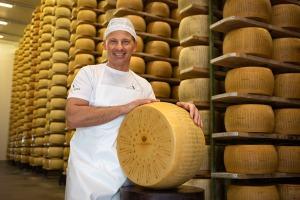 "Le origini pure del Parmigiano Reggiano""Organic"""