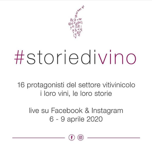 Incontro con #storiedivino 15 produttori Italiani live su Facebook e Instagram.