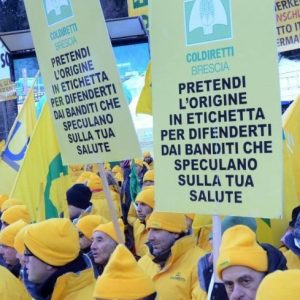UE: COLDIRETTI, ETICHETTA ORIGINE È VITTORIA PER 82%ITALIANI