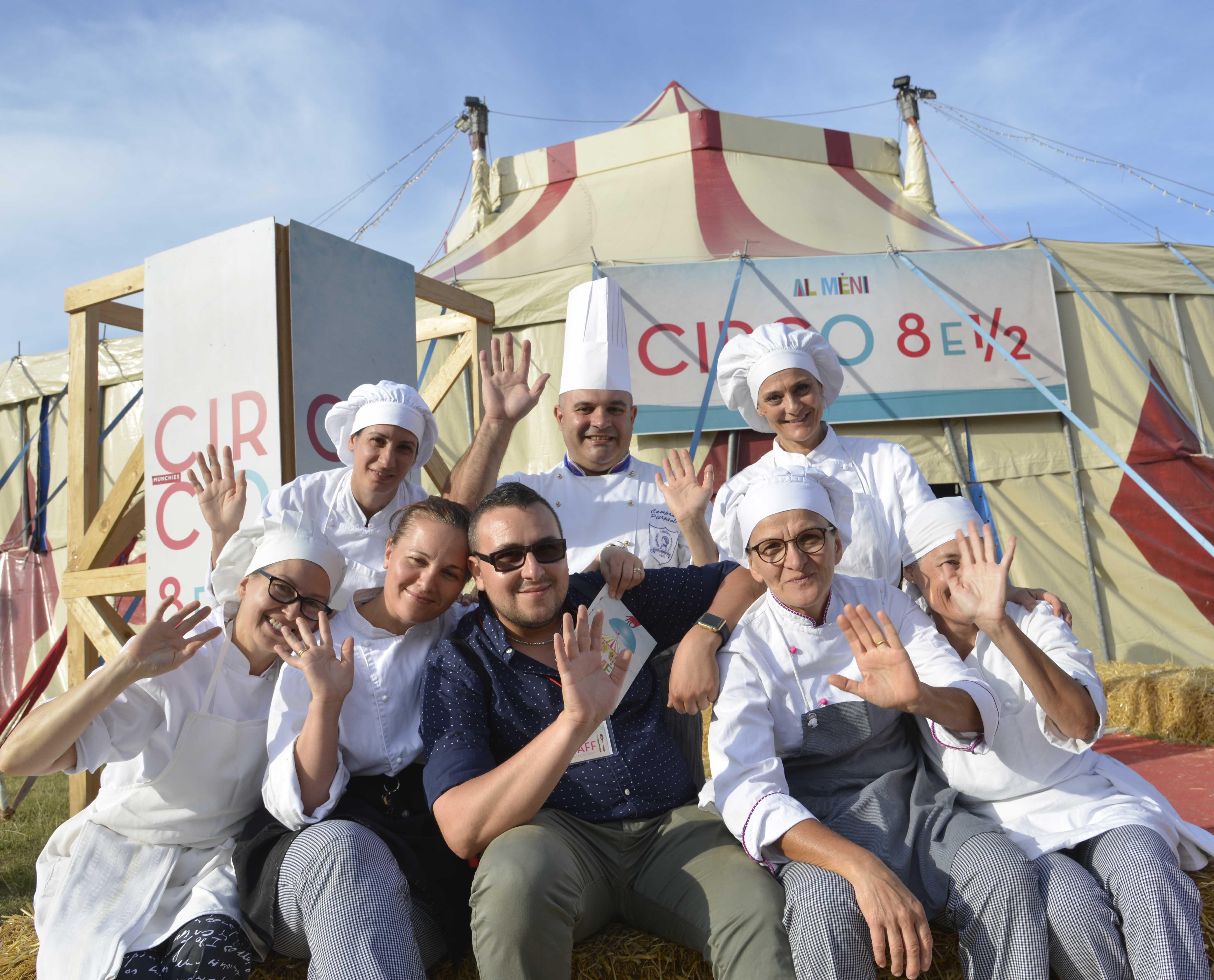 Il circo 8 ½ dei sapori torna a Rimini a fine settembre insieme a Massimo Bottura