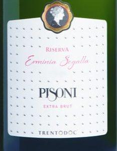 """Il Trentodoc Riserva """"Erminia Segalla"""" 2010 Pisoni ottiene 5StarWines in qualità di Miglior VinoSpumante"""