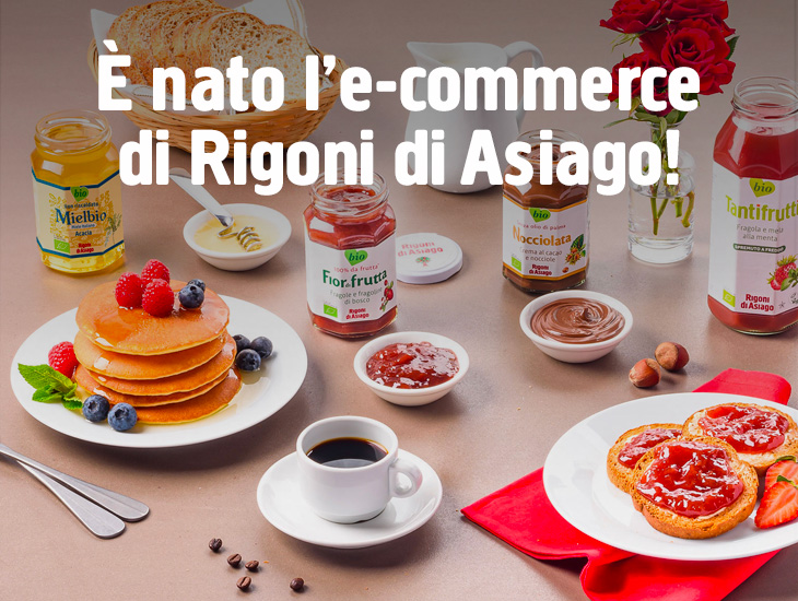 E' NATO L'E-COMMERCE DI RIGONI DI ASIAGO!