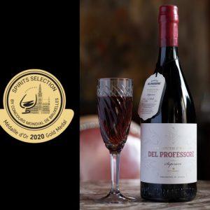 Medaglia d'Oro per il Vermouth di Torino Superiore al Barolo Del Professore al Concours Mondial de Bruxelles – Spirit Selection2020